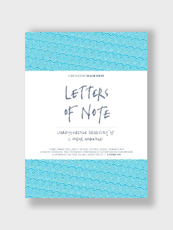 Letters of Note Shaun Usher