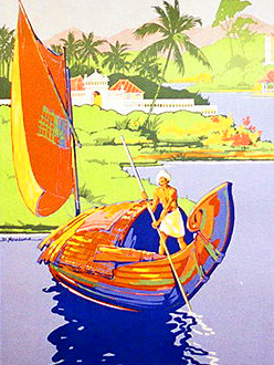 See India travel poster