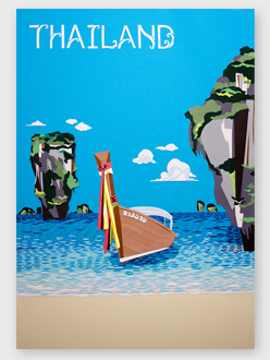 Thailand Travel Poster