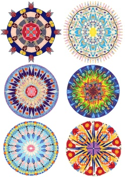Falling in love with mandalas