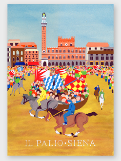 Illustration of Il Palio di Siena