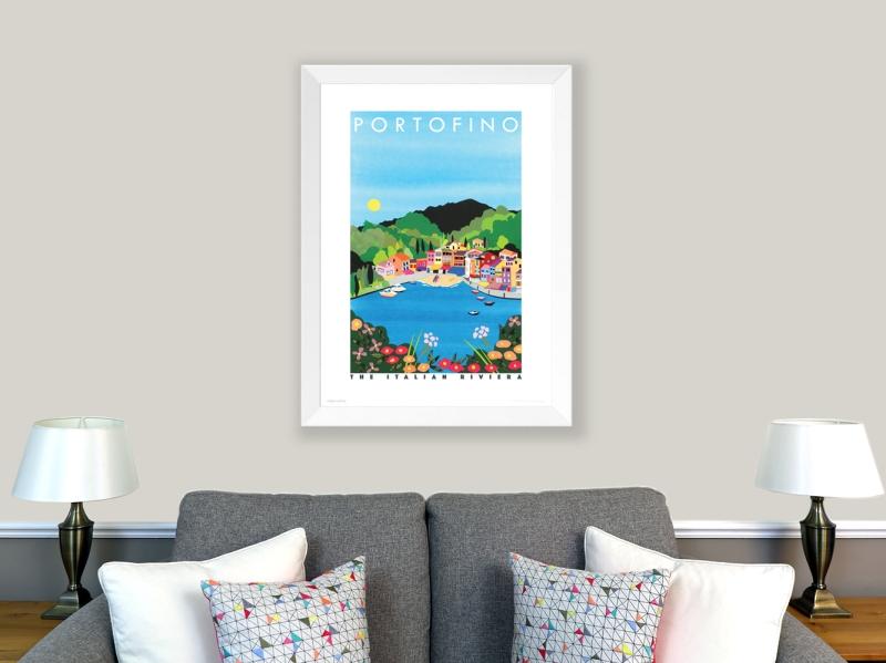 Poster of Portofino, Italy